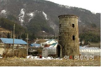 신흥리역 급수탑