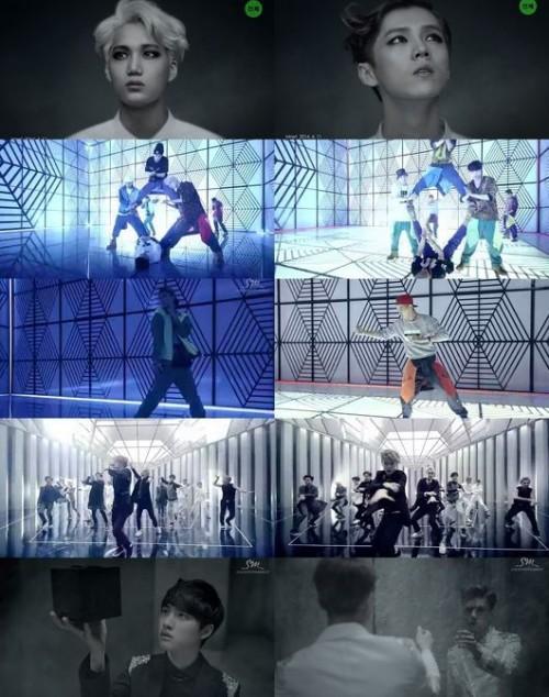 ...exo的新曲音源和舞蹈泄露视频在韩国网络上疯传《中毒》韩语...