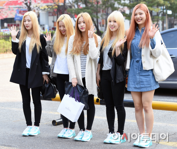 Red Velvet Be Natural Outfits