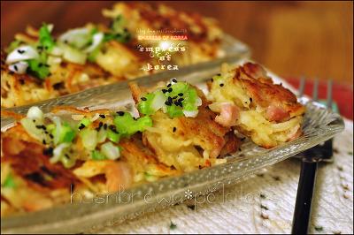 [캐롤라이나 여왕] 감자알맹이가 톡톡씹힌다 베이컨들어간 해쉬브라운 아이들간식에서부터술안주까지~^^
