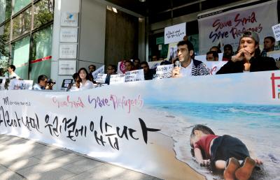시리아 난민의 피난처가 되어주세요!