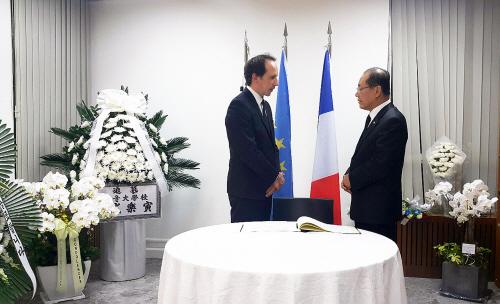 황우여-프랑스 대사