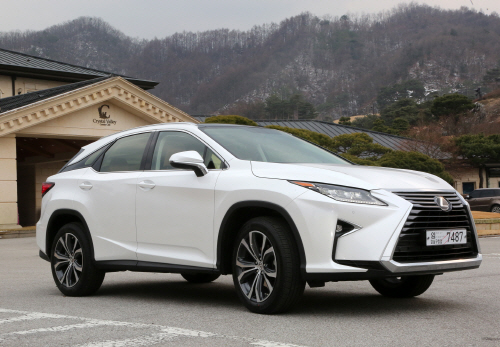 Lexus 2016 New Generation RX 정지 (2)
