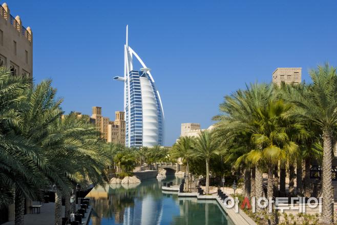 카타르항공_두바이 전경