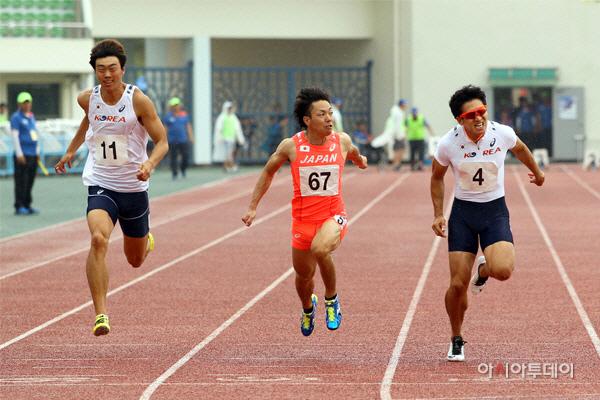 김천 한중일친선육상경기대회 성료