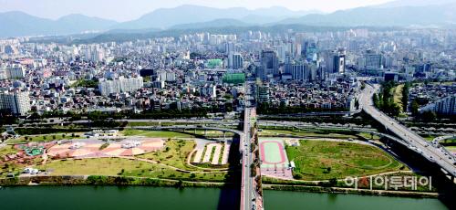 광나루한강공원 수정
