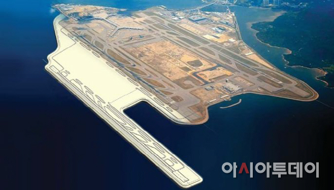 160802 [사진자료] 홍콩 첵랍콕 국제공항 조감도
