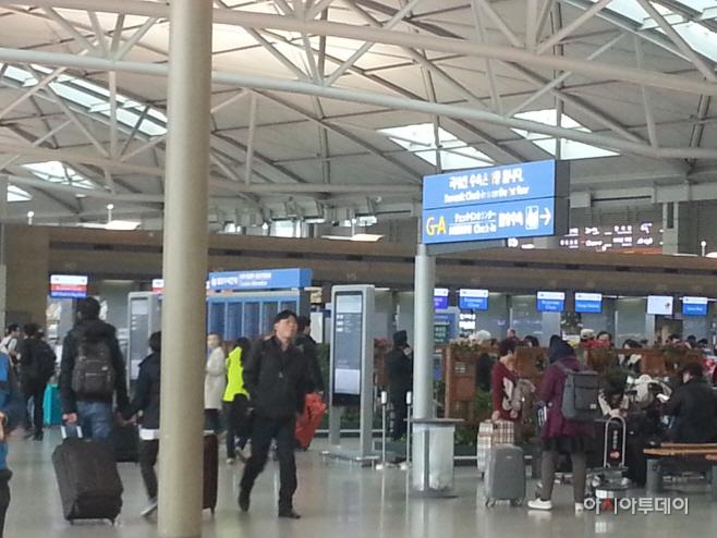 인천국제공항 내부 모습