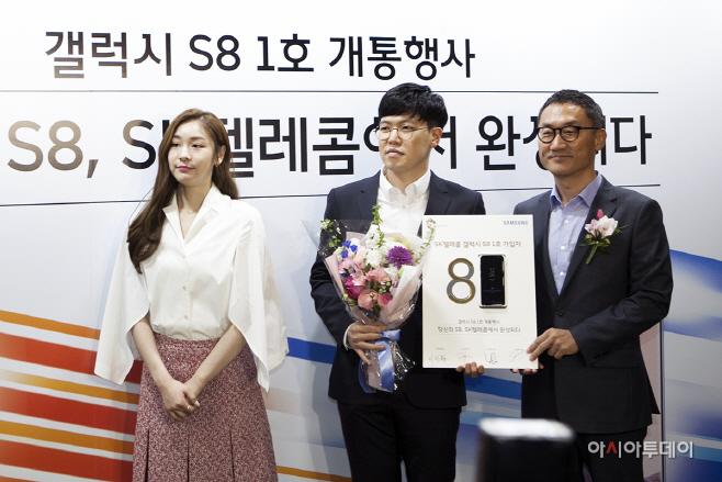 SK텔레콤, 도심 속 갤S8 랜드마크 공개_3
