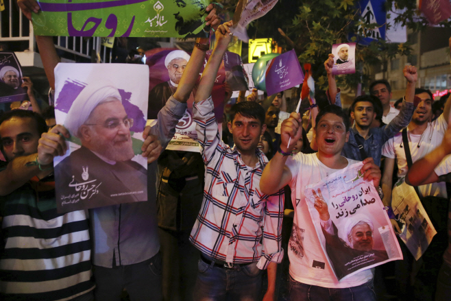 Iran Election Preview <YONHAP NO-4361> (AP)