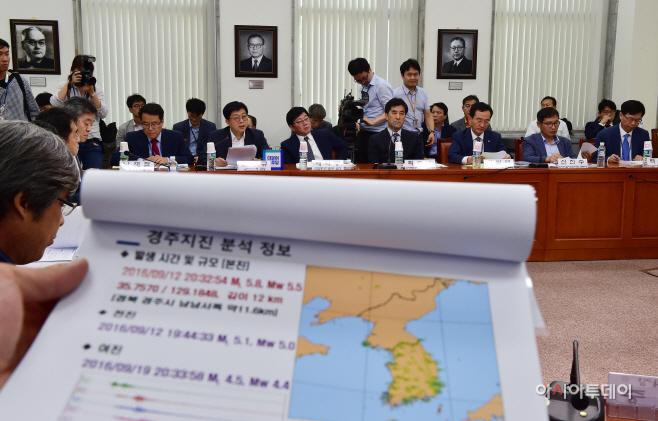 [포토] 더민주 '원전안전특위 1차 회의'