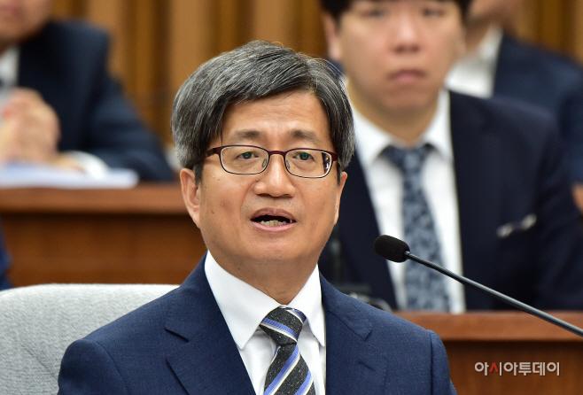 [포토] 김명수 대법원장 후보 인사청문회 답변