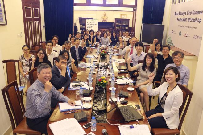 미래예측 워크샵 (베트남) 단체사진