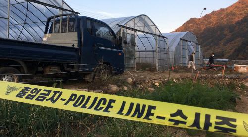 이영학 계부가 숨진 채 발견된 비닐하우스