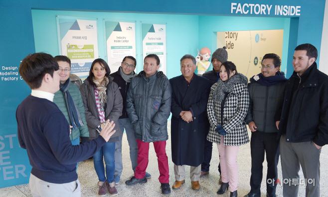 순천향대 에콰도르 관리자 초청연수단 -순천향대 IIC 투어