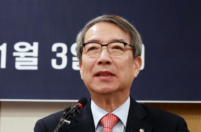 취임사 하는 정운찬 KBO 신임 총재<YONHAP NO-1129>