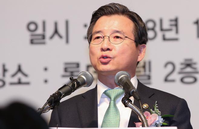 신년사하는 김용범 부위원장<YONHAP NO-2639>