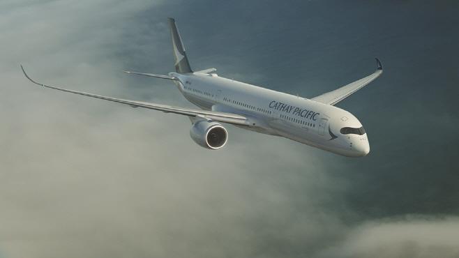 [사진자료] 캐세이패시픽항공 A350