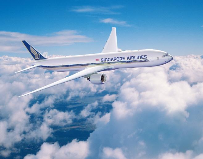 [보도자료 이미지] 싱가포르항공 항공기
