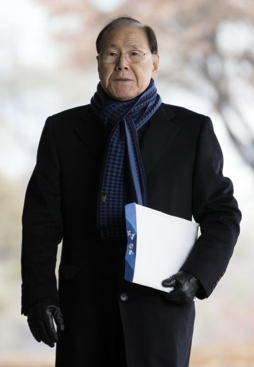 김백준 전 기획관, 검찰 출석