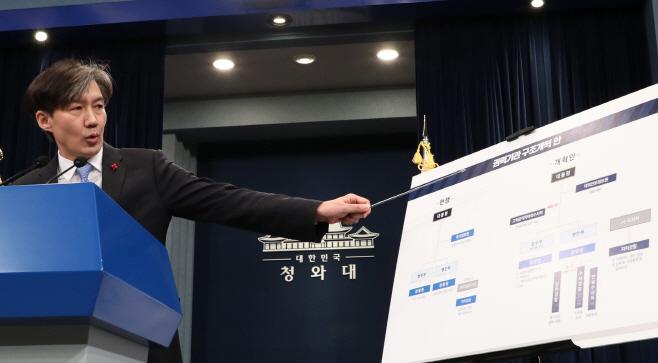 조국, 정부 권력기관 신뢰 회복<YONHAP NO-3227>