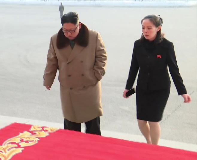 김정은과 김여정