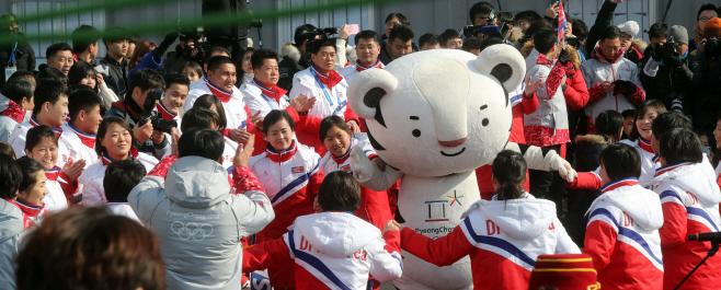 [올림픽] 평창올림픽서 하나된 남북