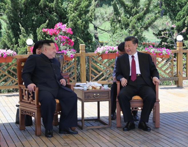 CHINA-DALIAN-XI JINPING-KIM JONG UN