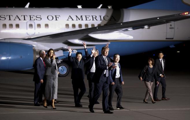 APTOPIX Trump North Korea <YONHAP NO-5395> (AP)