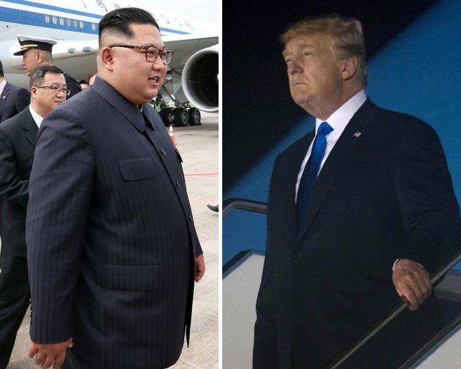트럼프-김정은, 2시간 단독회담으로 시작