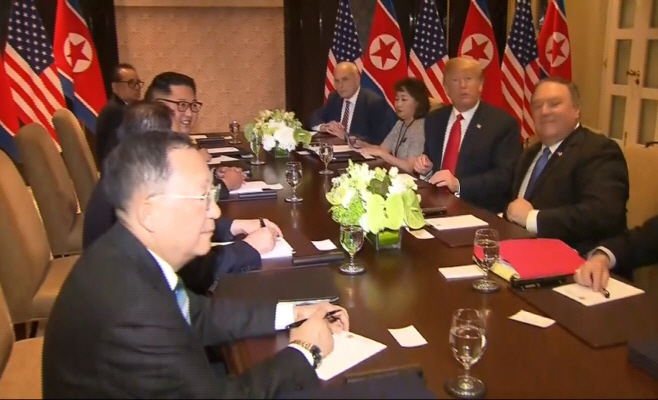 Singapore Trump Kim Summit