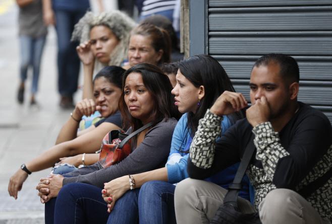 Venezuela Nightclub Brawl <YONHAP NO-0717> (AP)