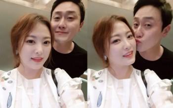 '인형의 집' 심진화, 남편 김원효와 데이트 인증샷 '꿀이 뚝뚝'