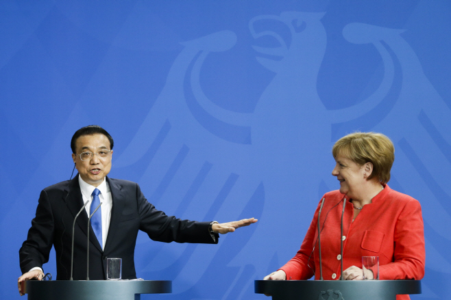 Germany China <YONHAP NO-5534> (AP)