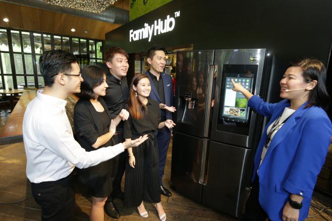 05_'삼성 패밀리허브' 냉장고, 싱가포르에 첫선