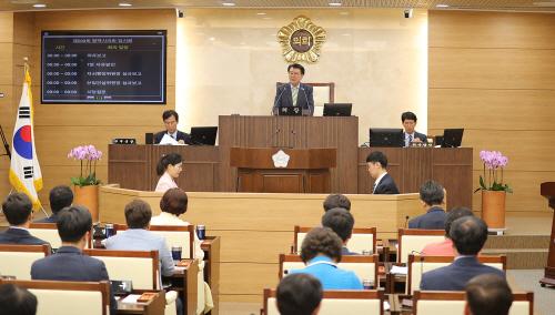 제200회 평택시의회 임시회 폐회