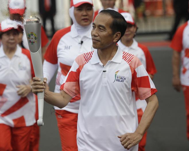 Indonesia Asian Games <YONHAP NO-4884> (AP)