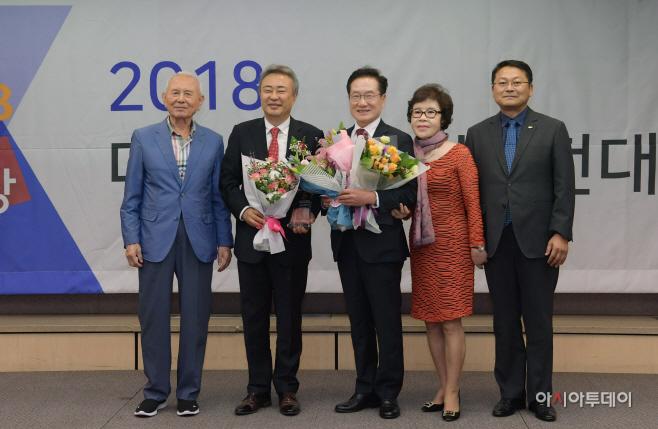최기문 영천시장 대한민국사회발전대상 수상 사진 2