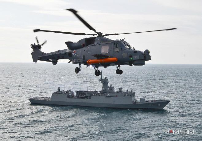 AW-159 작전배치 사진 (1)