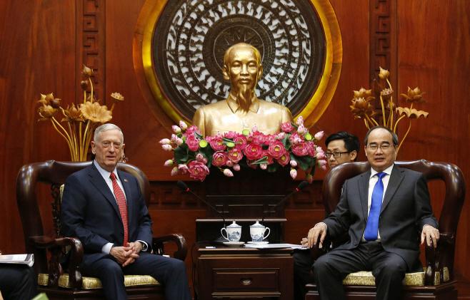 Vietnam US Mattis