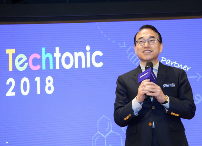 삼성SDS Techtonic 2018 대표이사 홍원표 사장_02_ 20181115