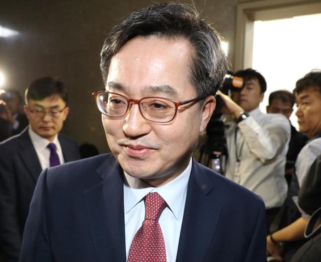 김동연, '예산안 협상을 위해'<YONHAP NO-2719>