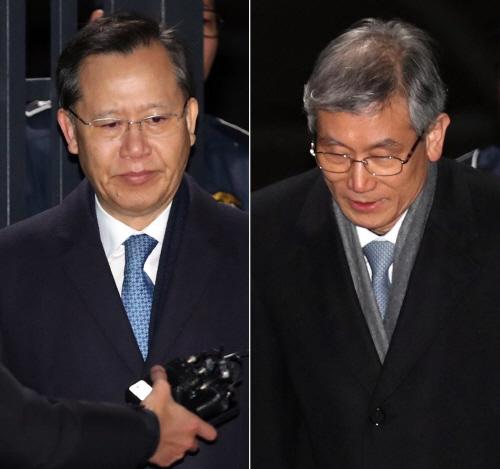 박병대-고영한 전 대법관 '구속영장 기각'