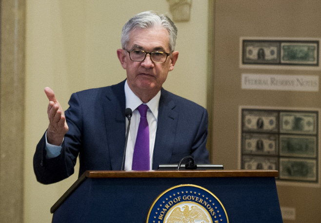 Federal Reserve Powell <YONHAP NO-6397> (AP)