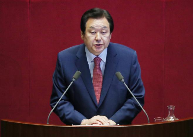 대정부질문 하는 김무성<YONHAP NO-2624>