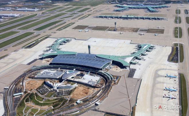 인천공항 제2터미널전경사진