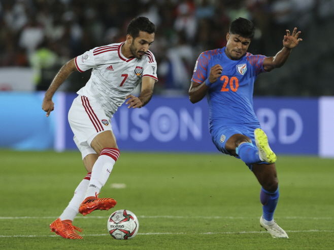 Emirates Soccer AFC Asian Cup UAE India
