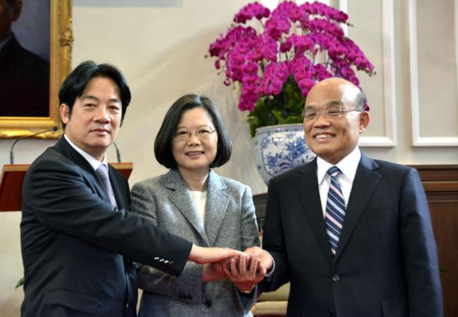 Taiwan Politics <YONHAP NO-4611> (AP)