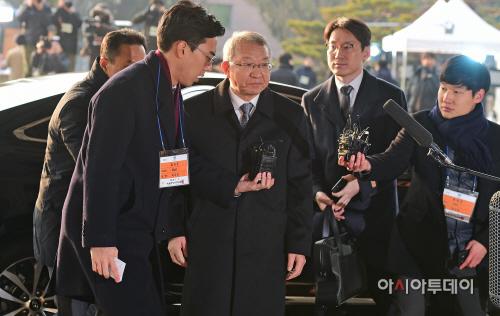 양승태 전 대법원장 검찰 출석