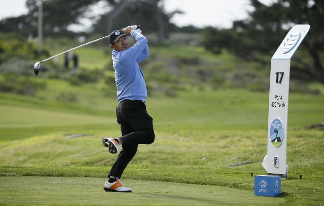 Pebble Beach Golf <YONHAP NO-3164> (AP)